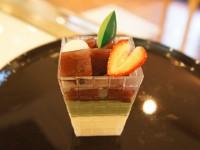 抹茶と小豆のベリーヌ